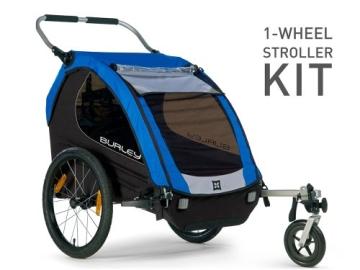 Burley Fahrradanhänger Zubehör Wheel Pushchair Set